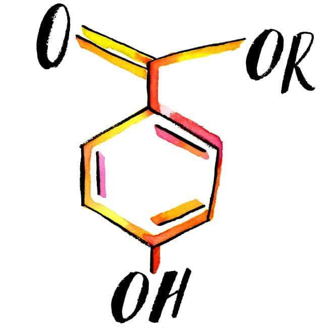 Paraben đặc biệt kích ứng với làn da nhạy cảm