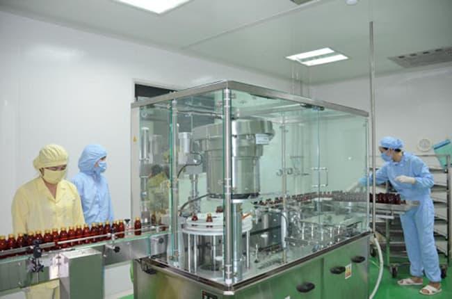 xưởng gia công mỹ phẩm của chúng tôi sạch sẽ đảm bảo an toàn